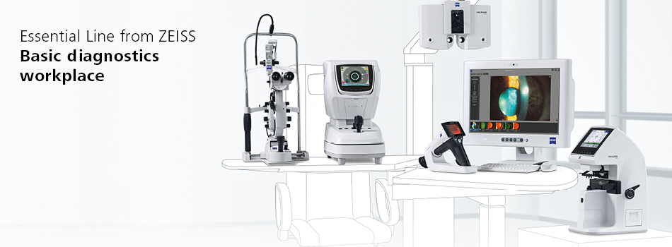 Essential Line from ZEISS - Basic diagnostics workplace